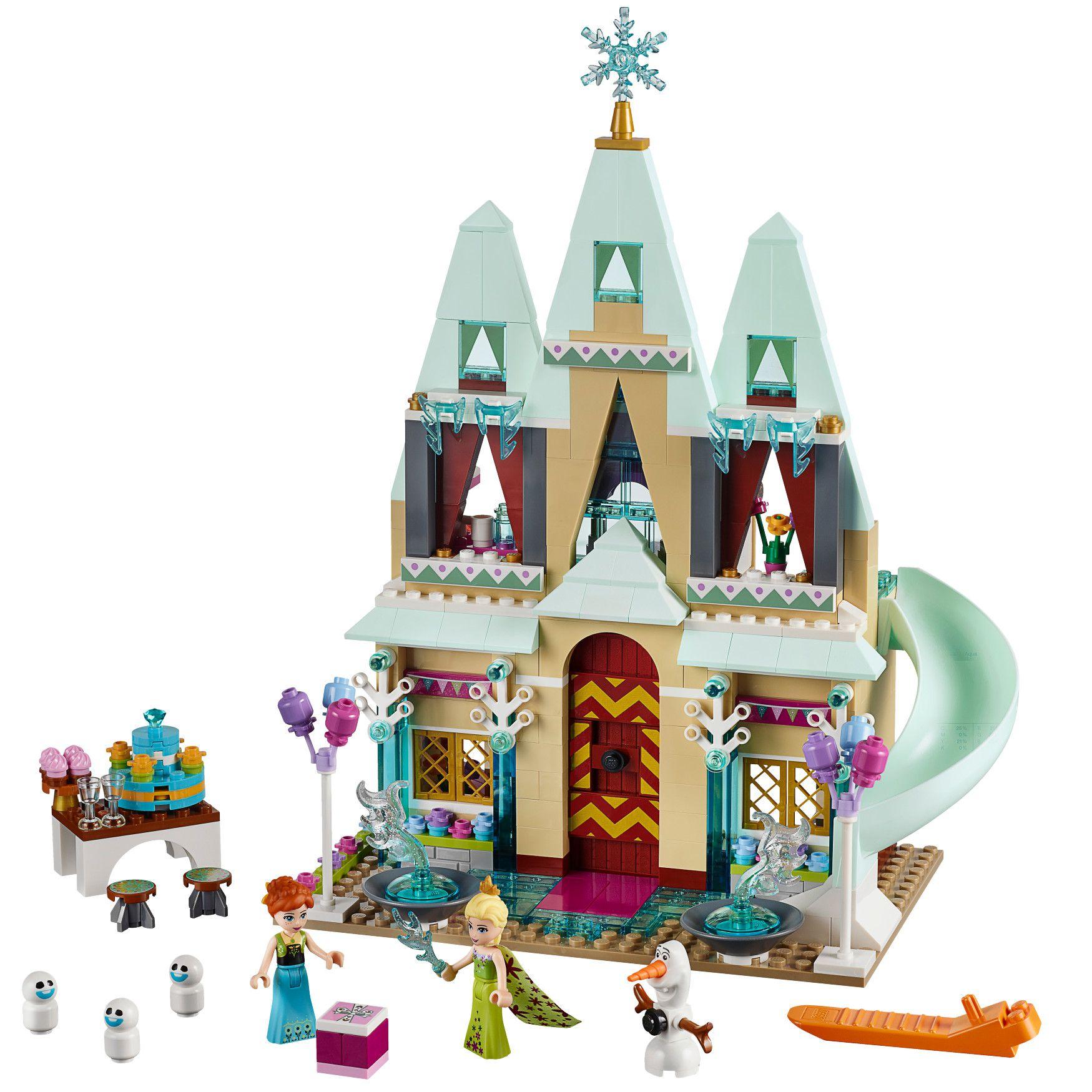 Lego disney princess la reine de neige 41068 l for Chateau elsa reine des neiges