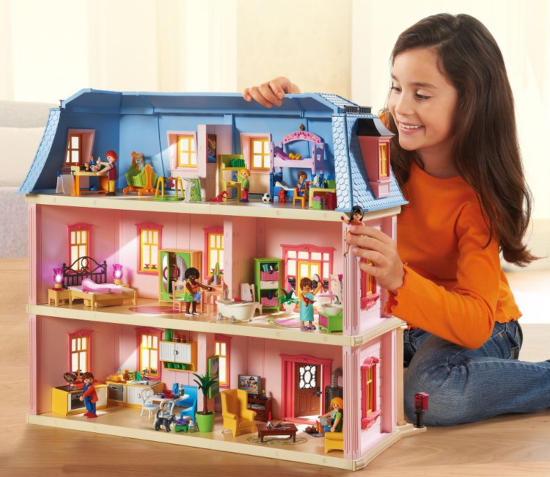 Playmobil 5304 chambre de b b achat vente univers for Photos maison playmobil