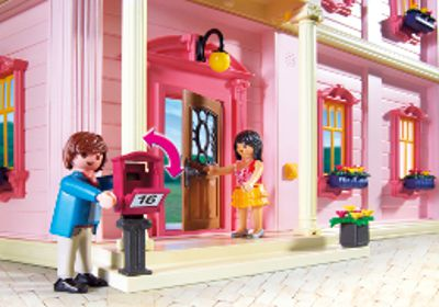 Playmobil 5303 maison traditionnelle achat vente univers miniature cdiscount - Toute les maison playmobil ...