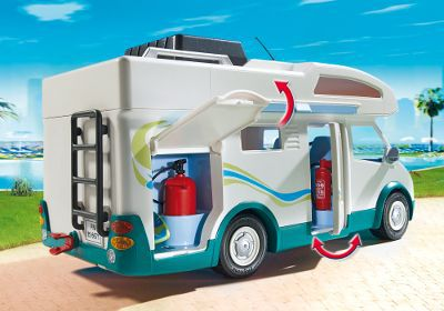 playmobil 6671 famille avec camping car achat vente univers miniature cdiscount. Black Bedroom Furniture Sets. Home Design Ideas