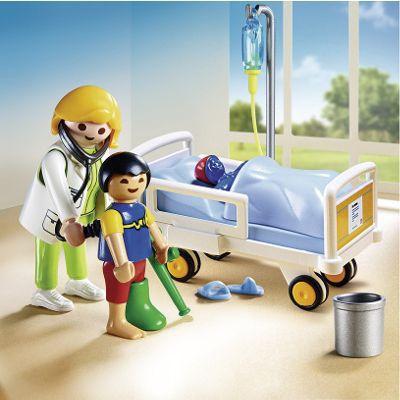 Playmobil 6661 chambre d 39 enfant avec m decin achat for Playmobil chambre enfant