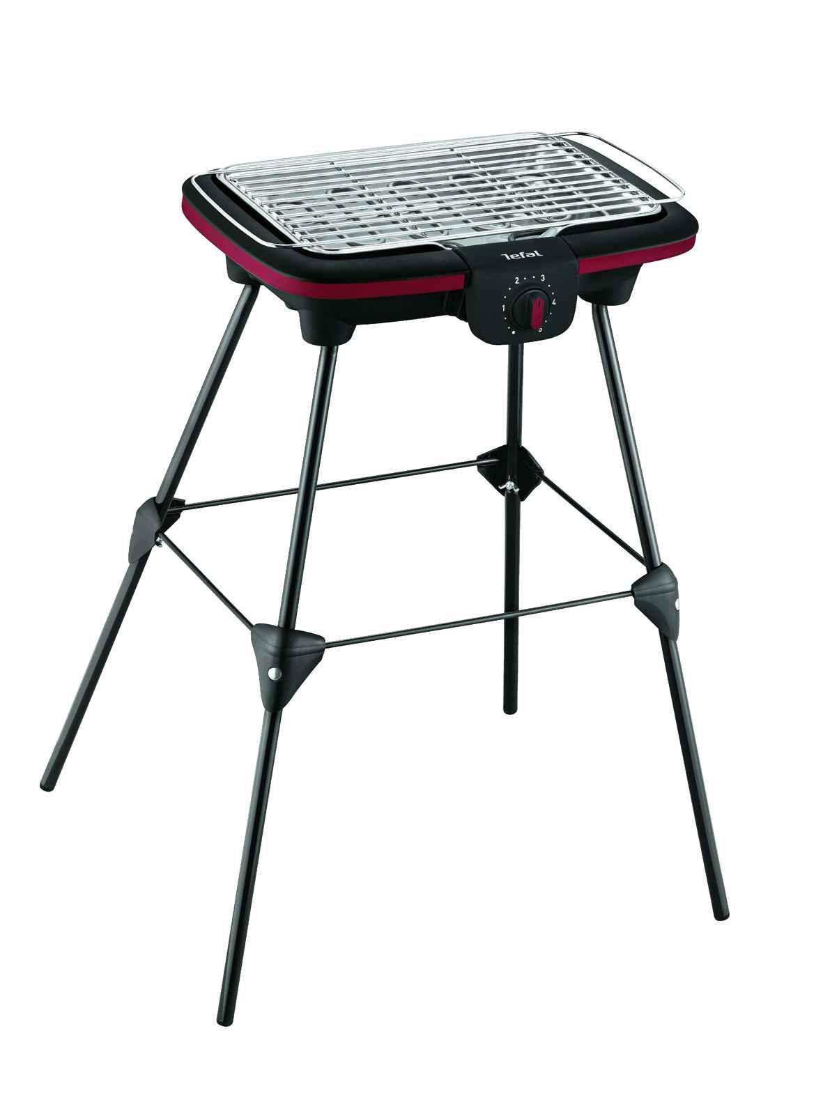 Tefal barcue lectrique sur pieds easy grill bg902o12 - Grill electrique de table ...