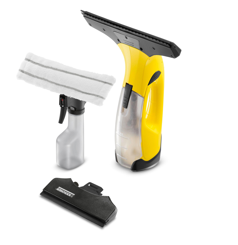 Destockage karcher nettoyeur vitres wv2 premium jaune for Karcher fenetre