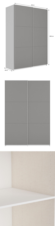 Best armoire 150 cm gris achat vente armoire de chambre best armoire 153 cm cdiscount - Armoire 150 cm ...