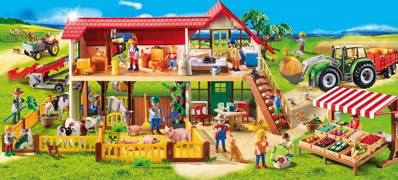 juniors jeux et jouets par type playmobil  enfant avec enclos a lapins clap f pla