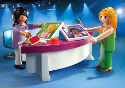 juniors jeux et jouets par type playmobil  podium pour casting de mode f pla
