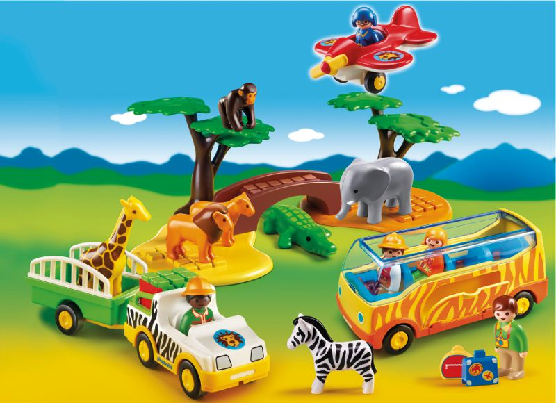 playmobil 5047 coffret animaux de la savane