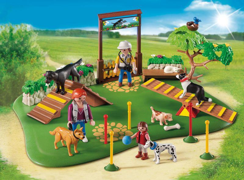 PLAYMOBIL 6145 Super Set Centre de dressage pour chiens