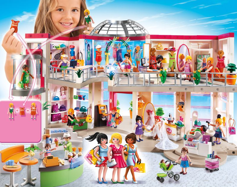 playmobil 5485 grand magasin amnag