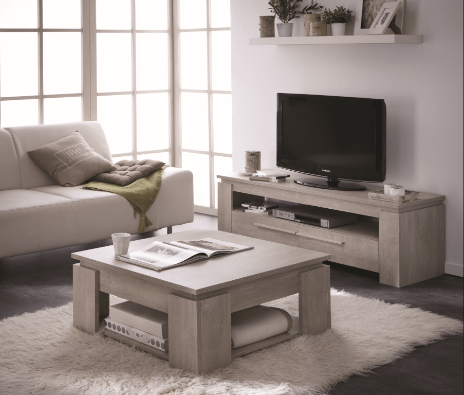 Ensemble table basse meuble tv segur 140cm achat vente table basse tabl - Ensemble table basse meuble tv pas cher ...