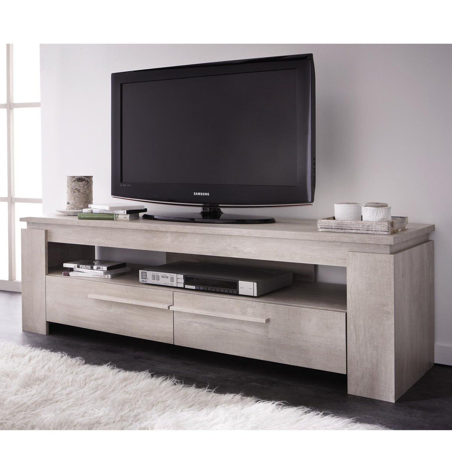 ensemble table basse meuble tv segur 140cm achat. Black Bedroom Furniture Sets. Home Design Ideas