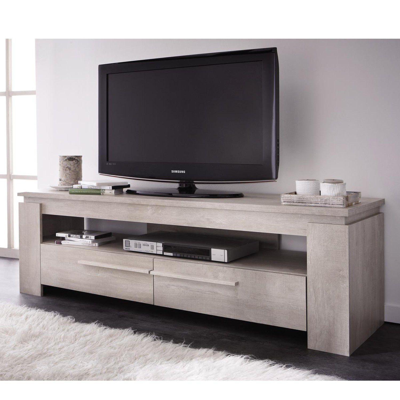 Ensemble table basse meuble tv segur 140cm achat for Table de television en bois