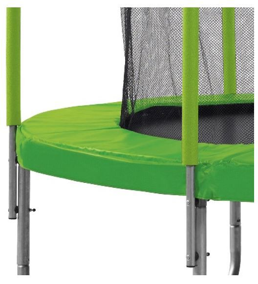 kangui trampoline 250cm vert avec filet 3760165461241 achat vente trampoline cdiscount. Black Bedroom Furniture Sets. Home Design Ideas