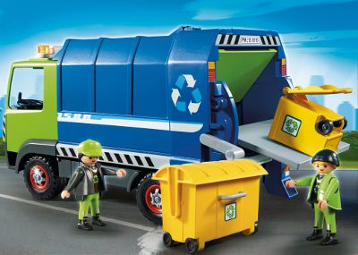Playmobil City Action 6110 Camion de recyclage des ordures DreamLand