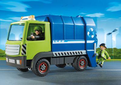 Playmobil  6110  Camion de recyclage ordures Prix conseillé à partir ..