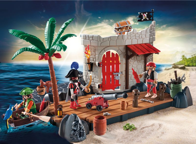 playmobil 6146 super set ilot des pirates - achat / vente