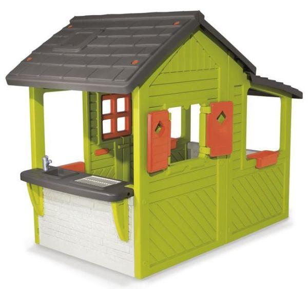 Smoby maison enfant n o floralie achat vente for Maison de jardin jouet