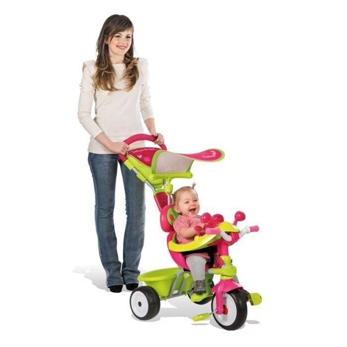 smoby tricycle baby driver confort evolutif de 10 36. Black Bedroom Furniture Sets. Home Design Ideas