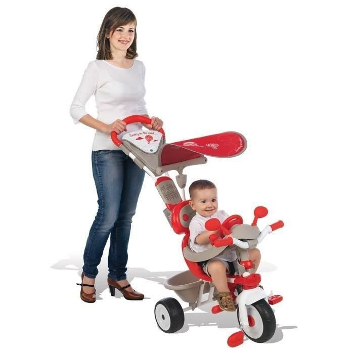 smoby tricycle baby driver confort mixte evolutif achat. Black Bedroom Furniture Sets. Home Design Ideas