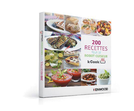 Kenwood ccc230wh robot cuiseur kcook blanc achat vente robot de cuisine cdiscount - Livre de recette pour robot multifonction cuiseur ...