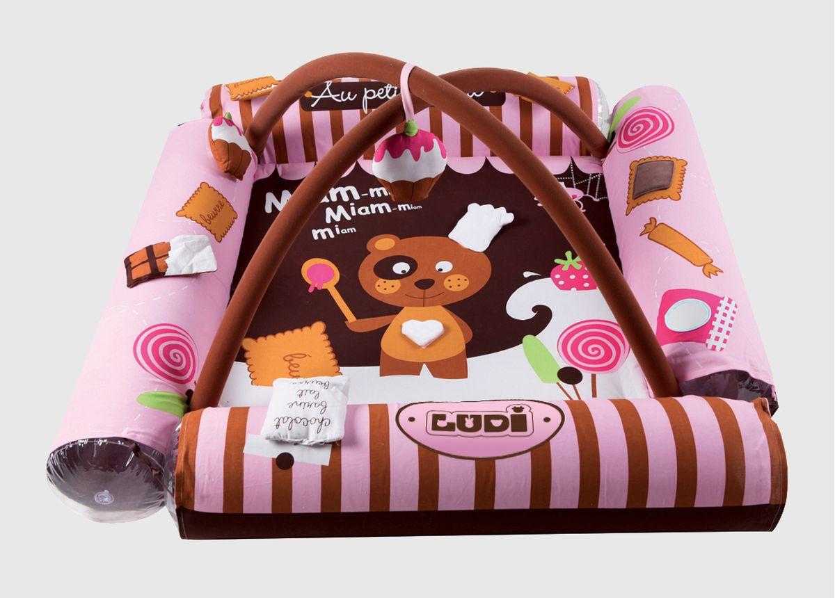 Ludi Aire D 39 Veil Gourmandises Rose Arche 30 Balles Offertes Rose Chocolat Achat Vente