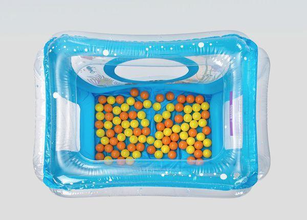 Ludi aire de jeu gonflable mer 50 balles achat vente for Piscine a balles ludi