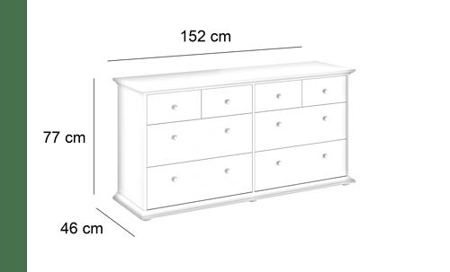 Commode 8 tiroirs