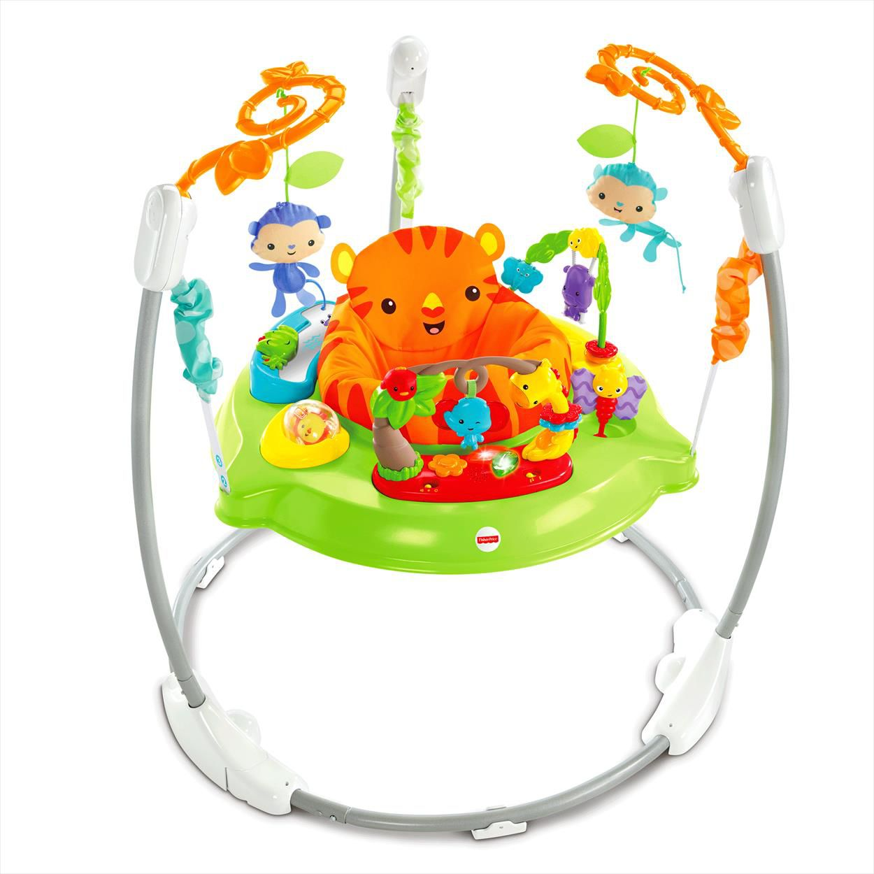 fisher price trotteur jumperoo jungle sons lumieres. Black Bedroom Furniture Sets. Home Design Ideas