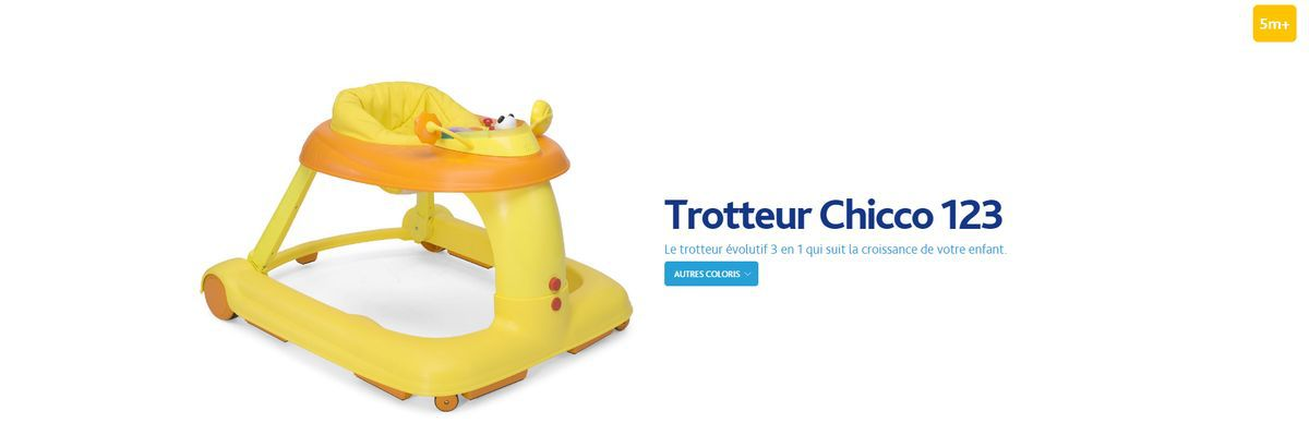 Chicco Trotteur 1 2 3 Vert