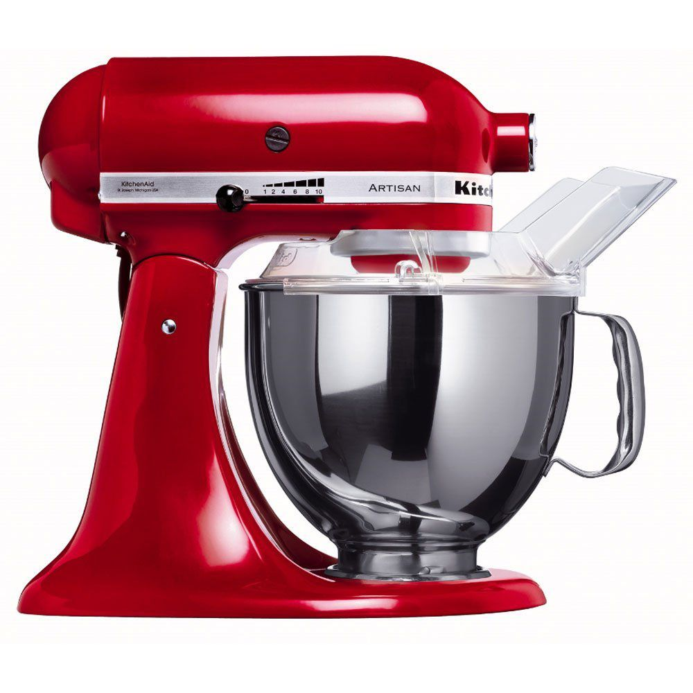 kitchenaid robot sur socle artisan 5ksm150pseer rouge 4. Black Bedroom Furniture Sets. Home Design Ideas
