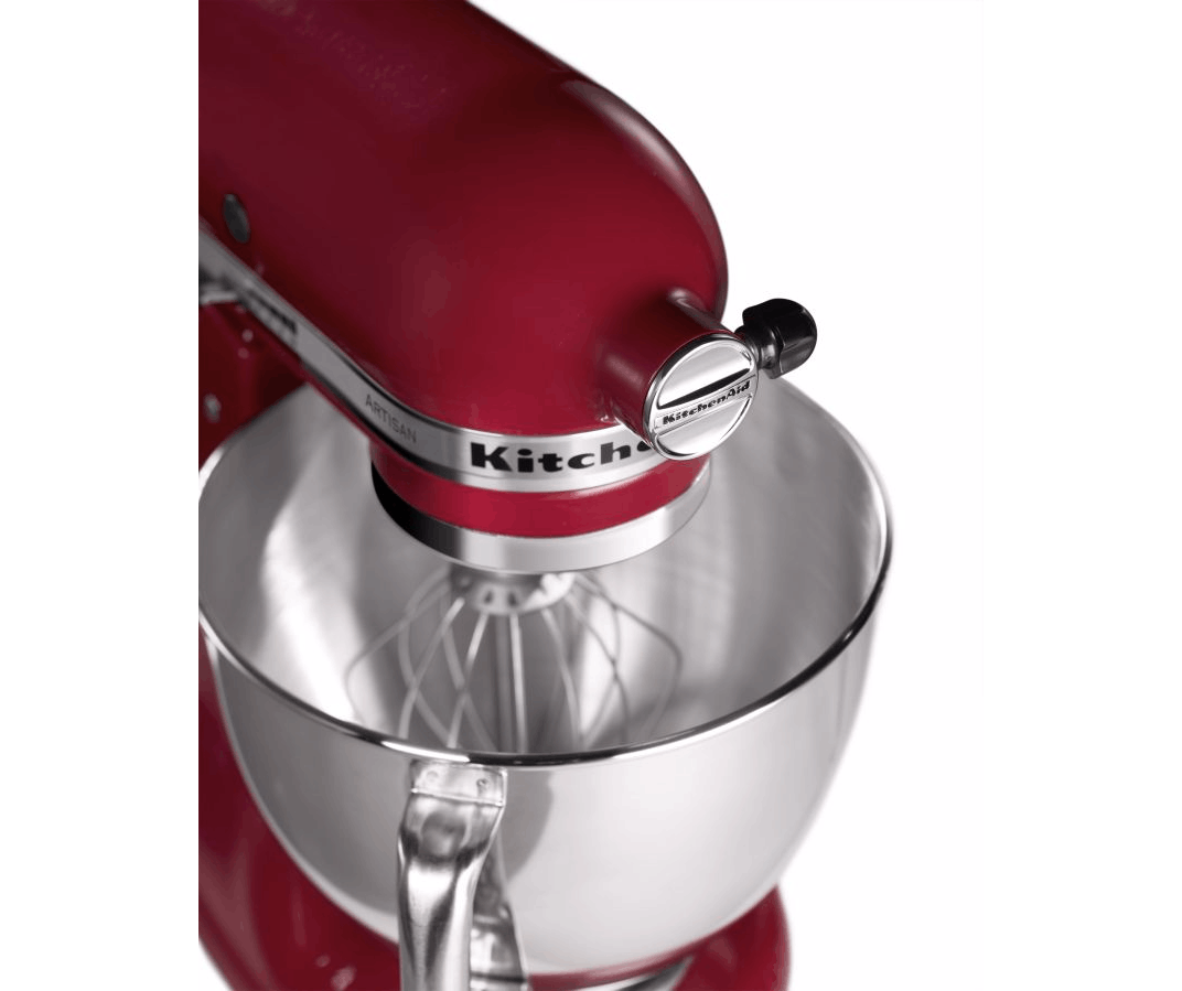 kitchenaid robot p tissier artisan 5ksm150pseer rouge 4 8l achat vente robot. Black Bedroom Furniture Sets. Home Design Ideas