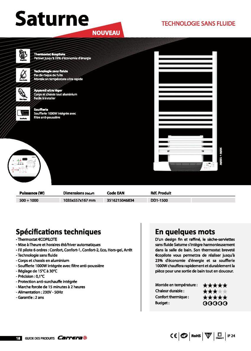 avis seche serviette carrera best description carrera kendo w with avis seche serviette carrera. Black Bedroom Furniture Sets. Home Design Ideas