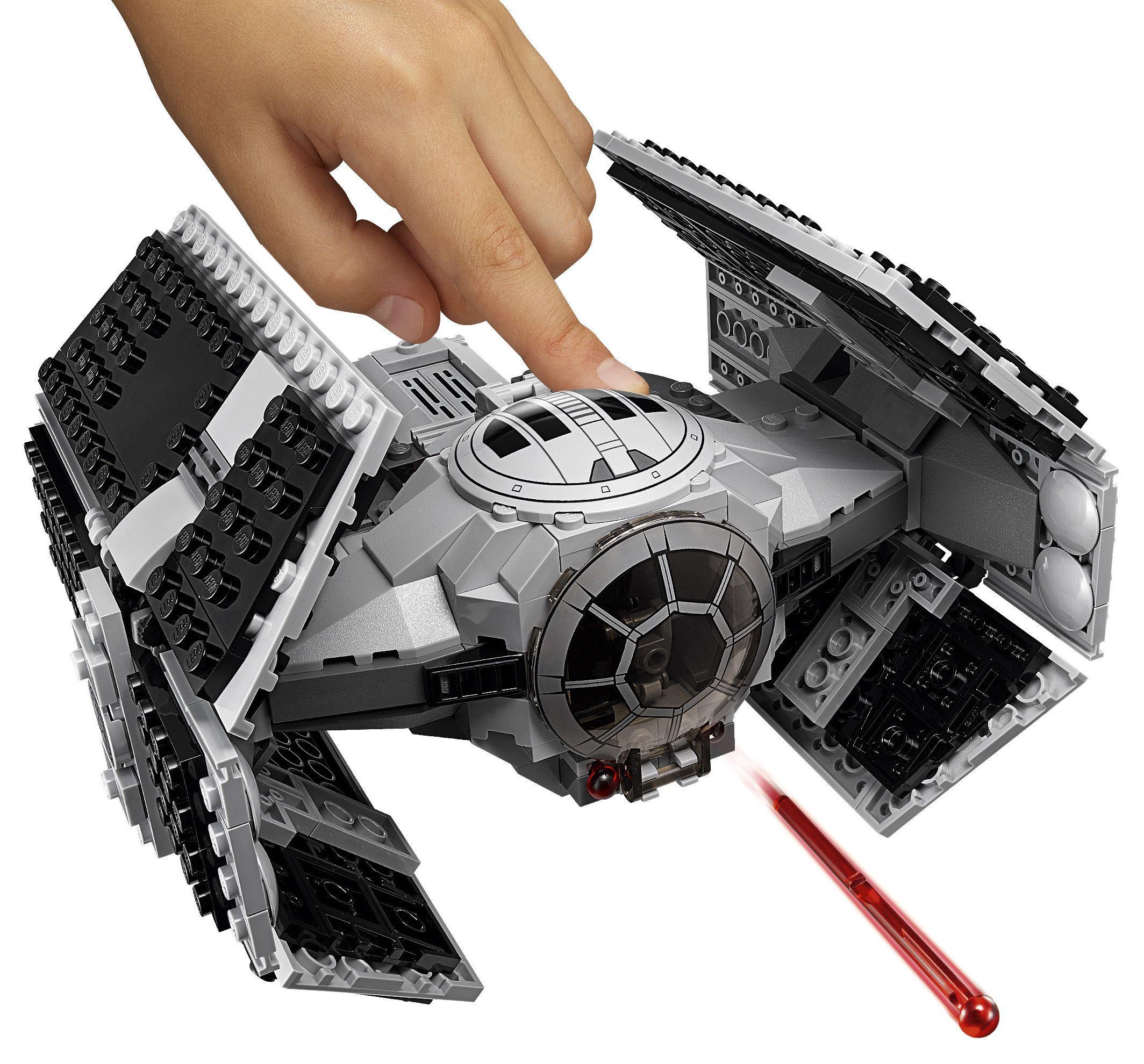 Lego star wars 75150 le tie advanced de dark vador - Vaisseau de dark vador ...