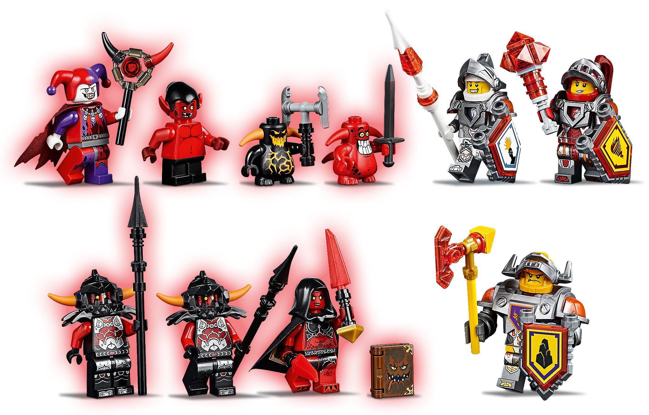 Nexo Volcanique Jestro Lego® De Knights Achat Repaire Le 70323 FcKTl1J