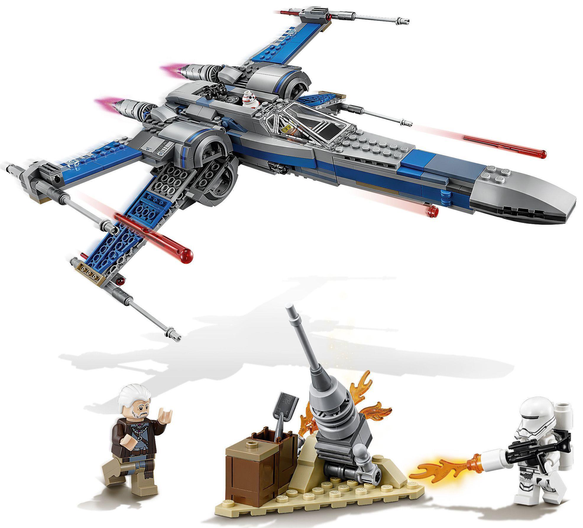 Lego star wars 75149 x wing fighter de la r sistance for Interieur vaisseau star wars