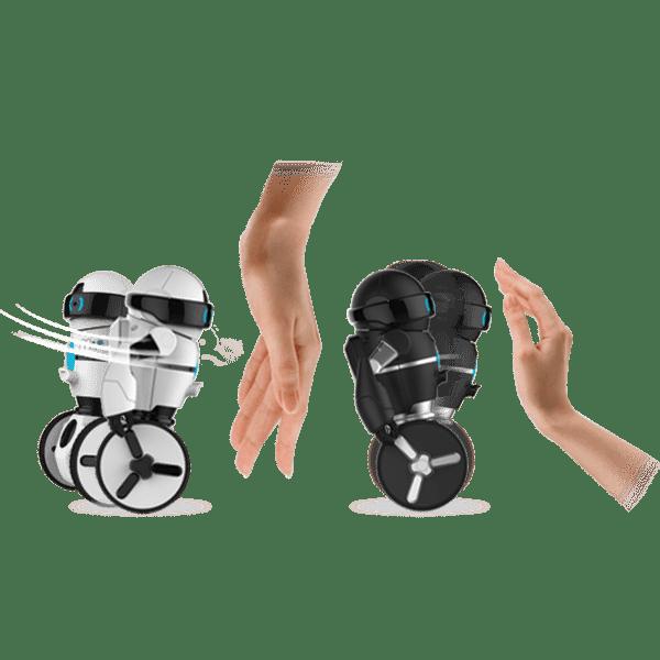 silverlit robot t l command mip noir 20cm achat vente robot animal anim cdiscount. Black Bedroom Furniture Sets. Home Design Ideas