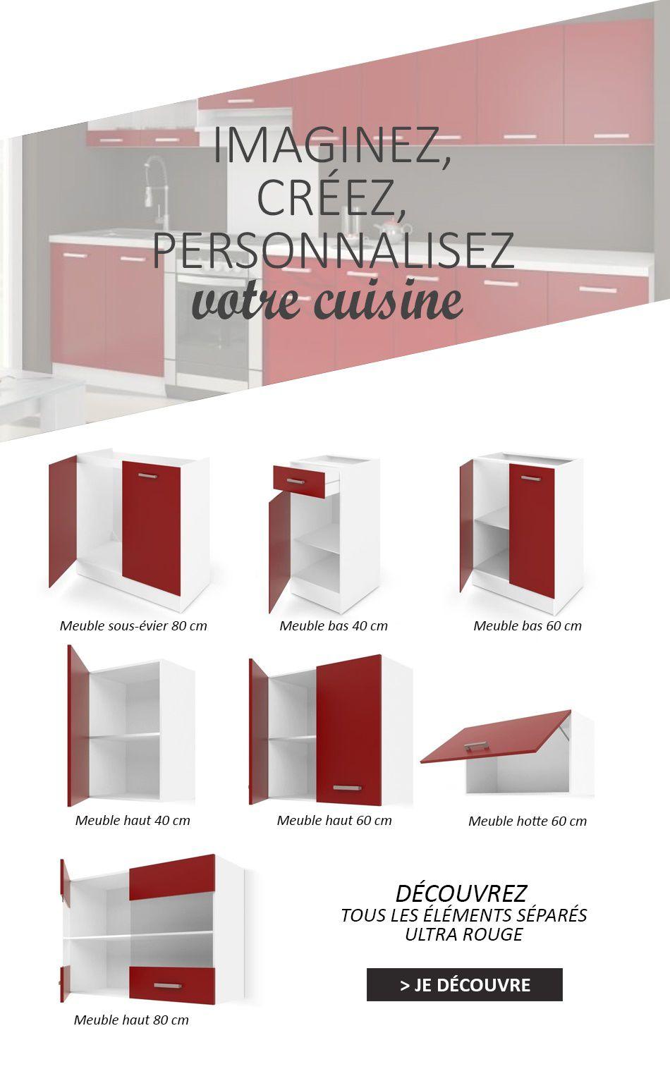 Meuble bas profondeur 40 cm perfect comforium meuble bas for Meuble cuisine 40 cm largeur