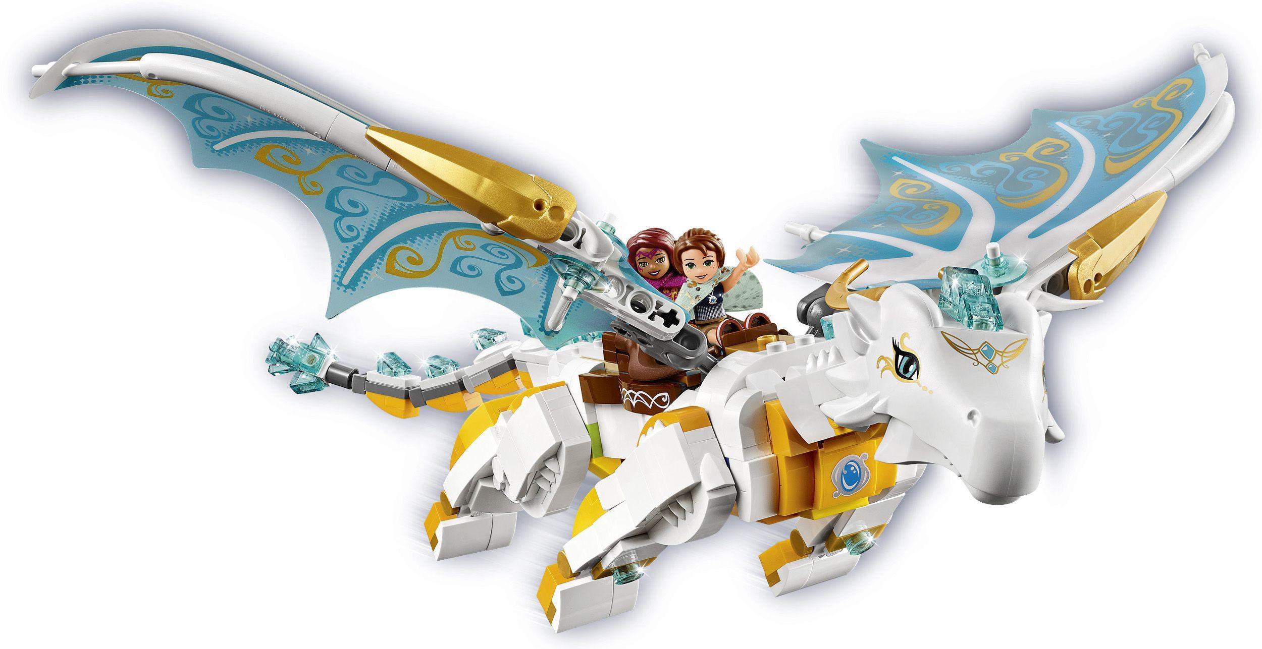 lego® elves 41179 le sauvetage de la reine dragon  achat