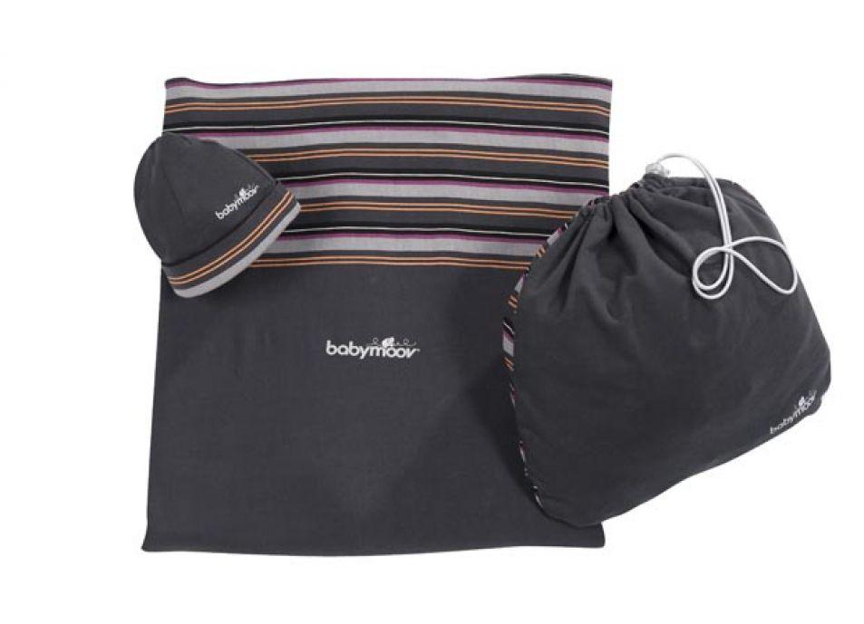 babymoov porte b b echarpe zinc hibiscus zinc. Black Bedroom Furniture Sets. Home Design Ideas