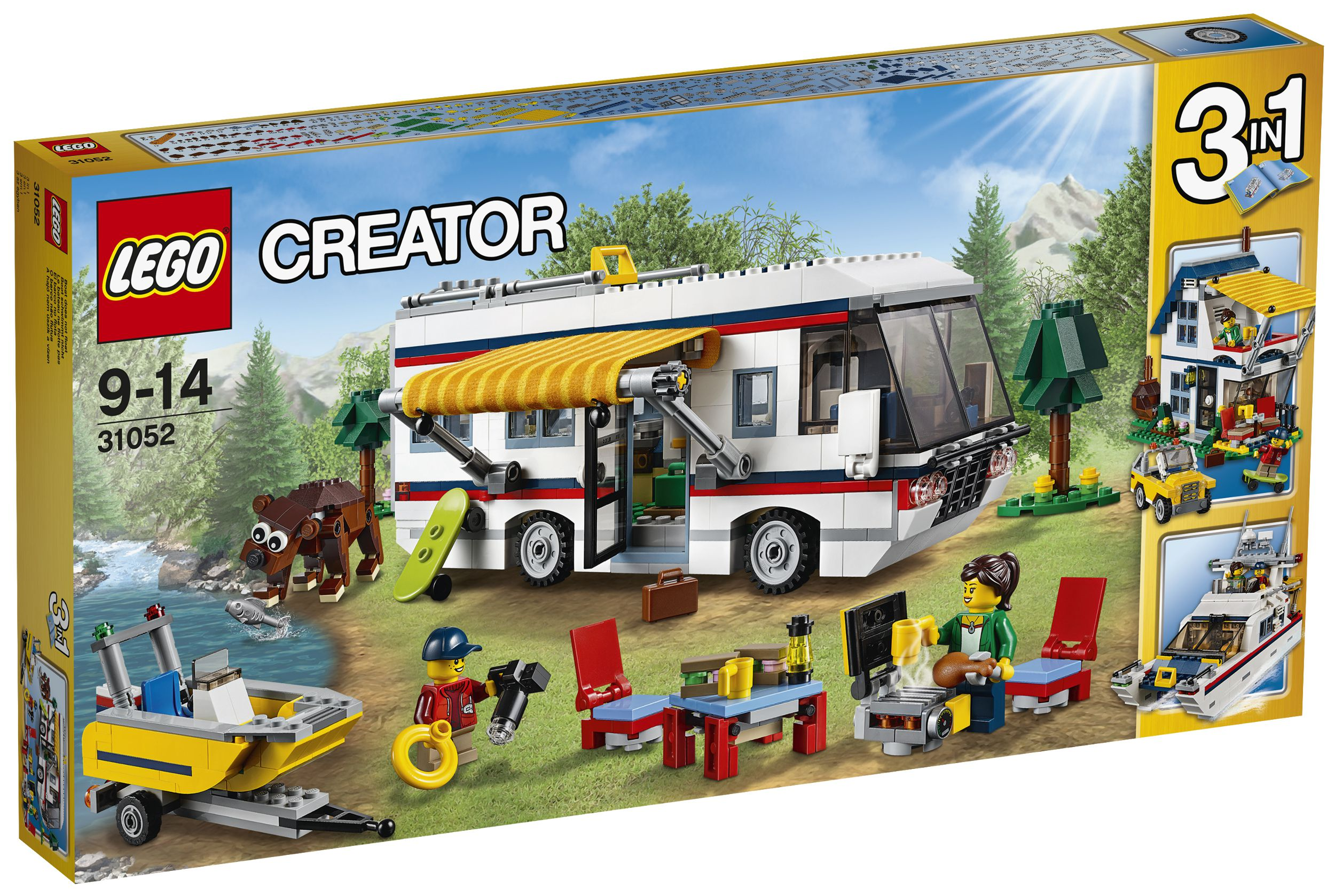 lego creator 31052 le camping car achat vente assemblage construction cdiscount. Black Bedroom Furniture Sets. Home Design Ideas