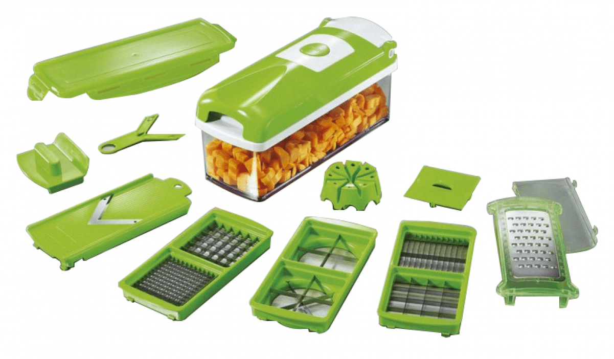 Ess nicer dicer plus mandoline decoupe facile legumes fruits eminceur coupe aliment achat - Coupe legumes nicer dicer plus ...