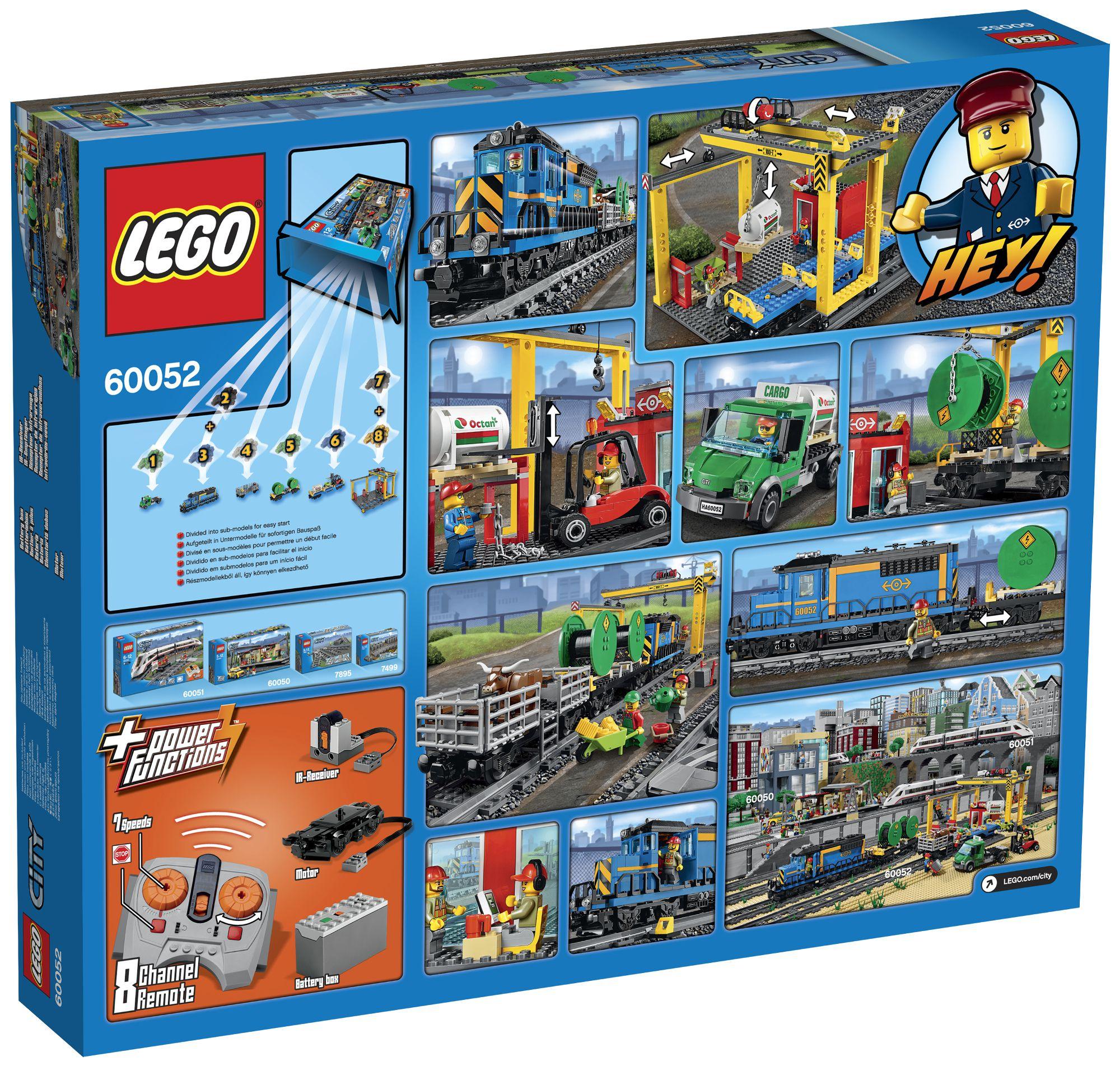 lego city 60052 le train de marchandises achat vente assemblage construction cdiscount. Black Bedroom Furniture Sets. Home Design Ideas