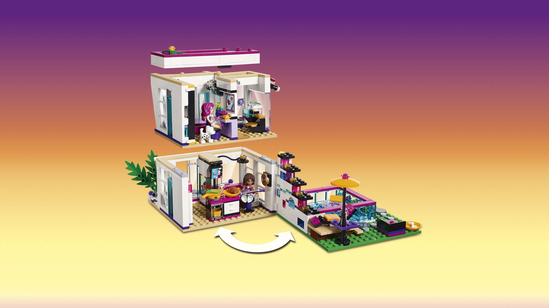 Lego friends 41135 la maison de la pop star livi achat vente assemblage construction - Lego friends casa de livi ...