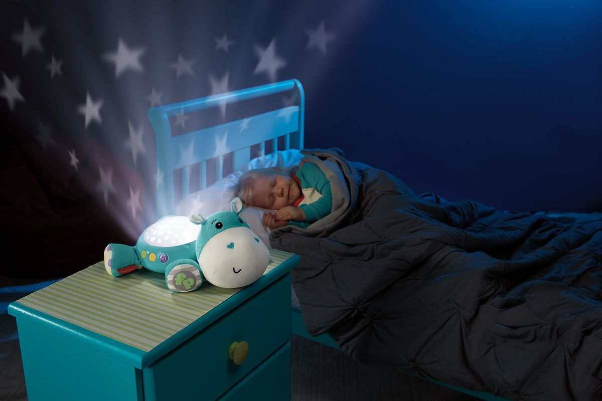 Fisher price veilleuse hippo douce nuit bleu achat for Veilleuse chambre a coucher