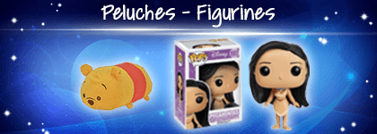 Peluches et Figurines Disney