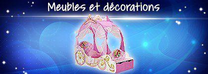 Meubles et décorations Disney