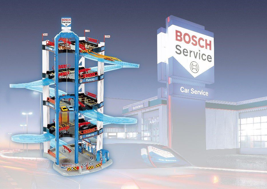 bosch garage 5 niveaux achat vente univers miniature cdiscount. Black Bedroom Furniture Sets. Home Design Ideas