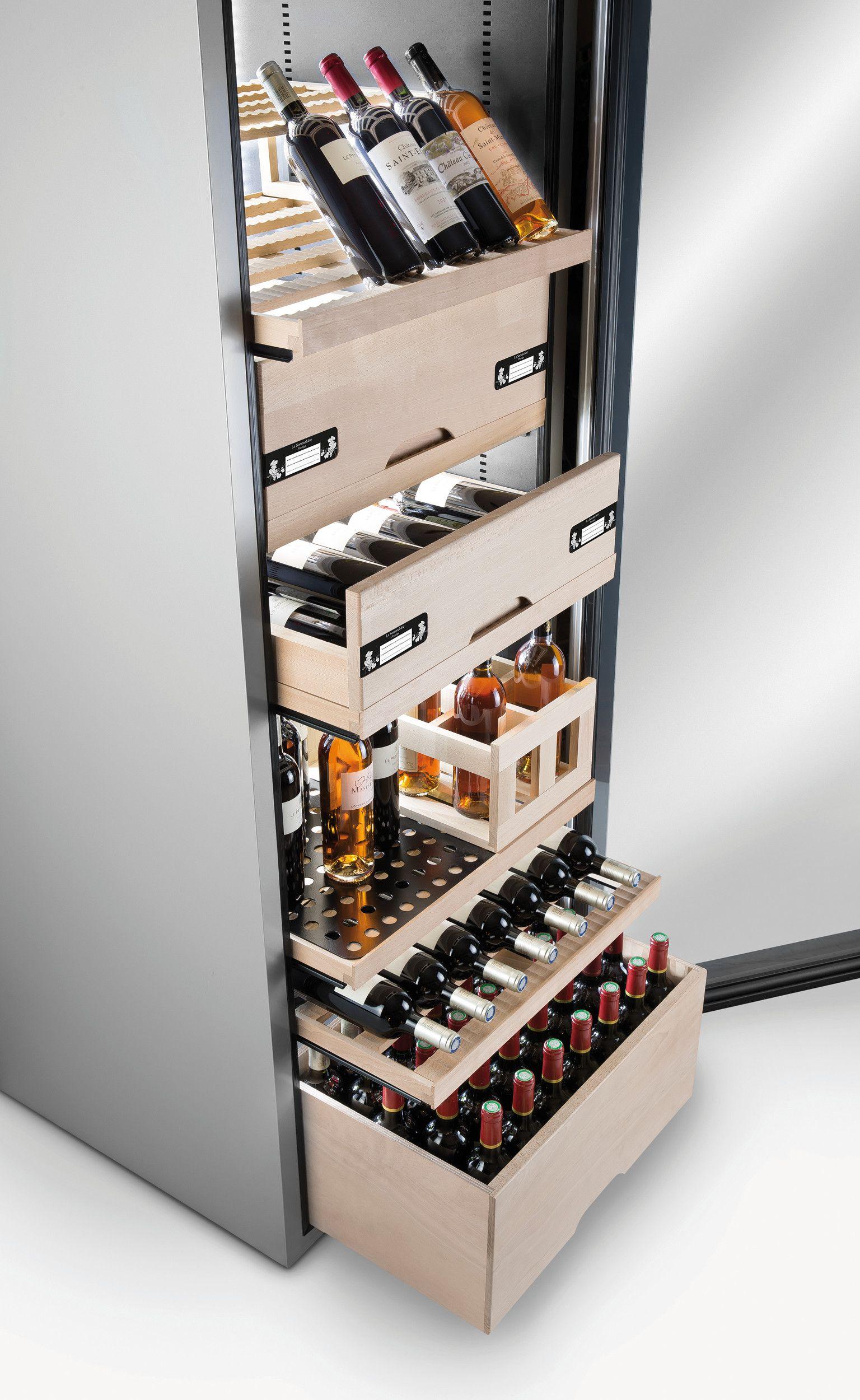 la sommeliere vip 265v cave vin de vieillissement 265 bouteilles pose libre classe a. Black Bedroom Furniture Sets. Home Design Ideas
