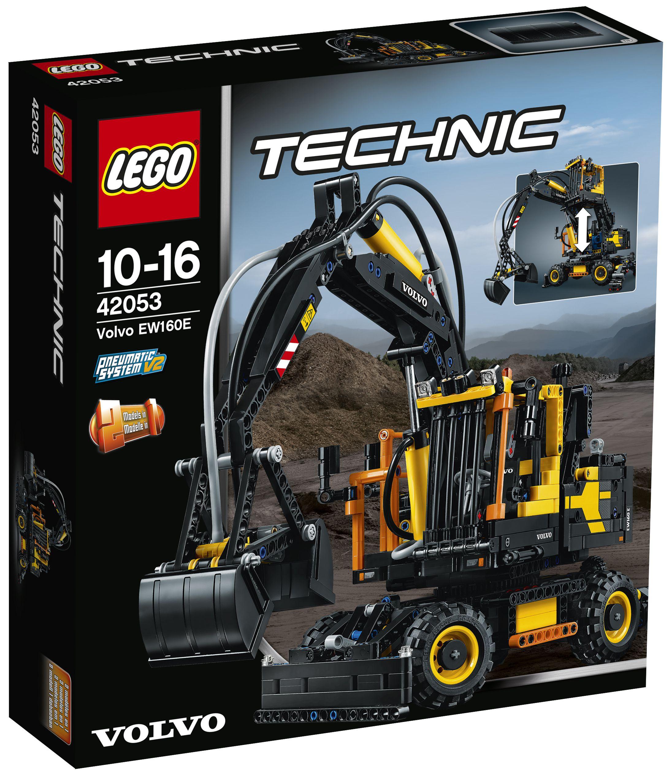 Lego technic 42053 volvo ew160e achat vente - Jeux de construction lego technic ...