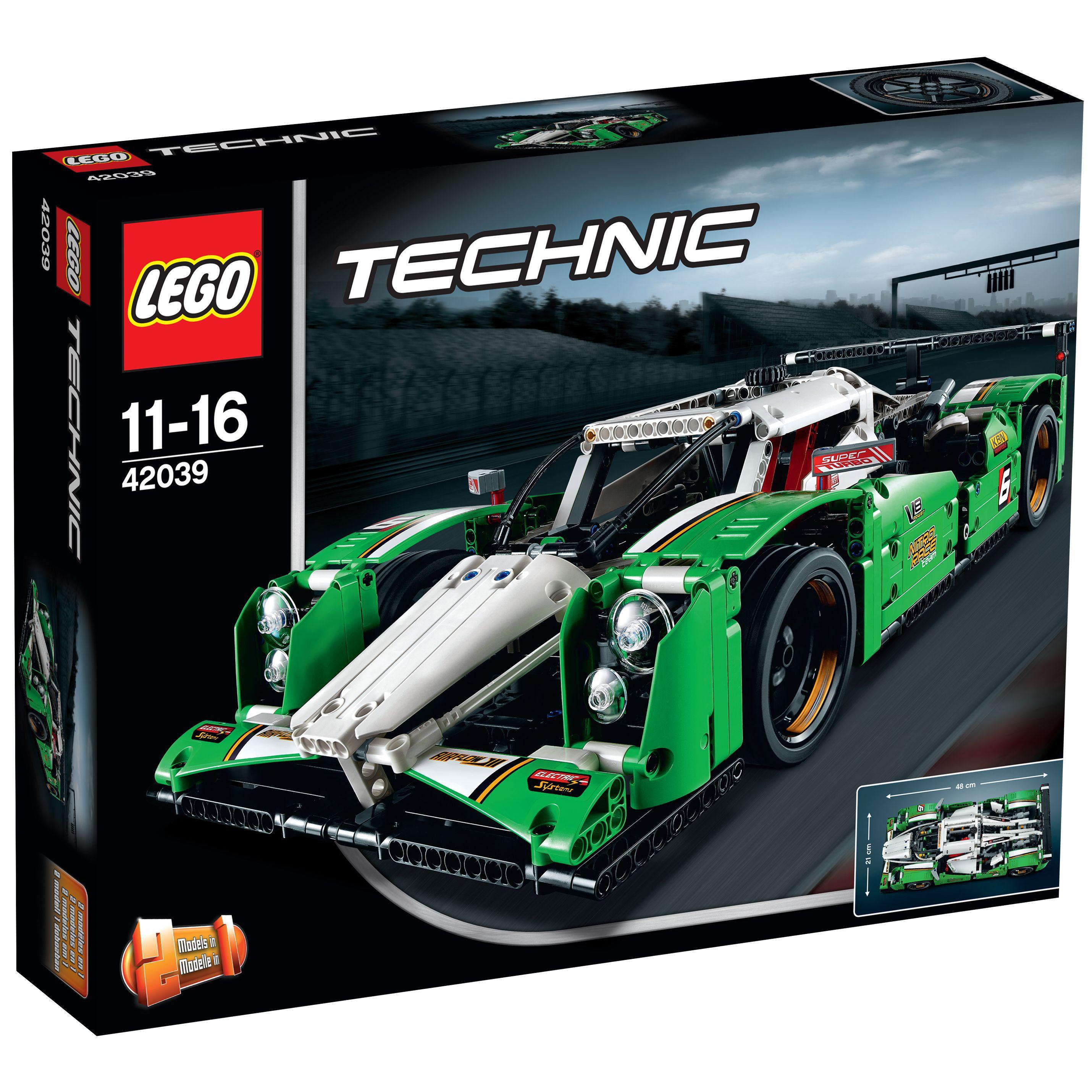 lego technic 42039 la voiture de course des 24h achat vente assemblage construction cdiscount. Black Bedroom Furniture Sets. Home Design Ideas